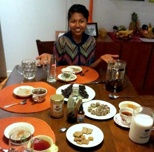 Paying it forward with food…could I ask for anything more?