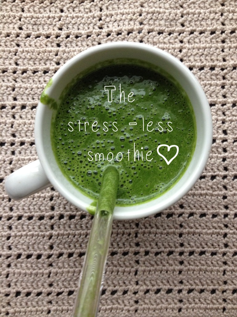 Adaptogens and you! Are you stressed? The smoothie that will boost you!