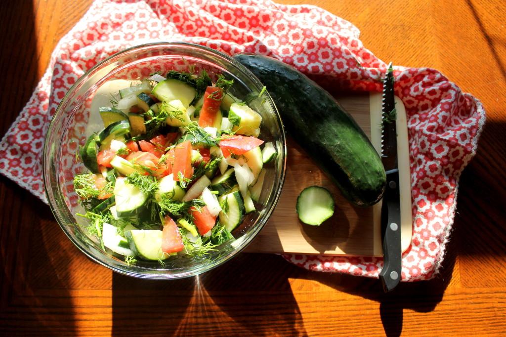 Salad Sunday: Simple Moroccan Chopped Salad!