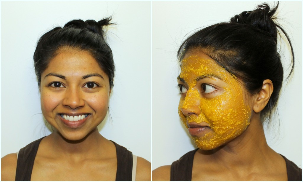 Turmeric face mask to get that glow!