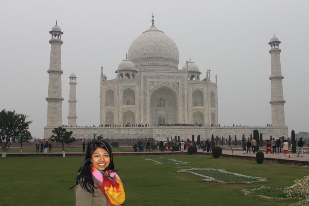 The Taj Mahal and me!