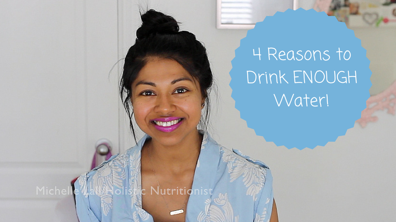 4 Reasons to Drink ENOUGH Water!