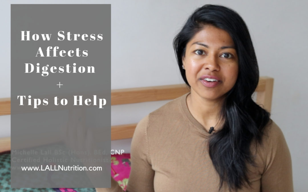 How Stress Affects Digestion + Tips to Help
